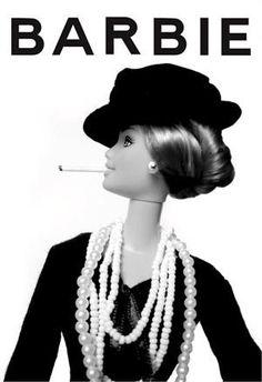Karşınızda Barbie Coco Chanel! :)