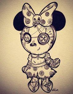 Voodoo Minie Mouse