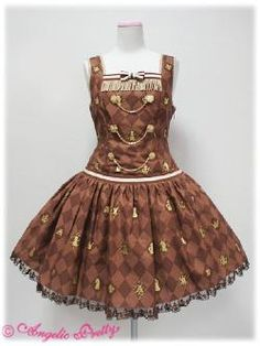 chess chocolate angelic pretty dress
