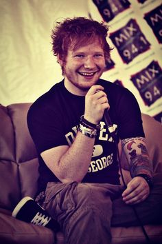EdSheeran, is so lovely and so humble and down to earth and he is amazing and cute!