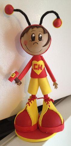 El Chapulin Colorado Fofucha Doll