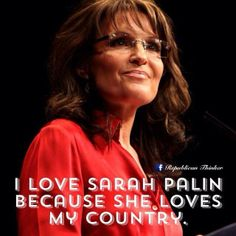 The Left hate Sarah Palin because she will not comply to their political correctness ideology. Nor will she sit quietly while the lies told from our President go unnoticed by the MSM. Thank God for people like her; the ones who are not afraid to be called every negative name in the book while fighting for truth and liberty. The Left despise her, and the Establishment can't silence her.