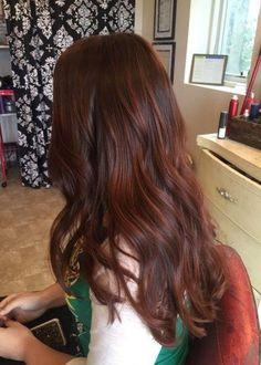 Hair color red brown highlights dark auburn 54 new Ideas Red Hair dark red brown hair Dark Red Hair With Brown, Brown Auburn Hair, Red Brown Hair Color, Hair Color Auburn, Dark Hair, Color Red, Brown Brown, Red Hair On Brown Hair, Chocolate Auburn Hair