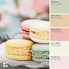 Pastel Pastries, number 54 of 101 Color Combinations to Inspire Your Next Design – Pastel Pastries Color Palette