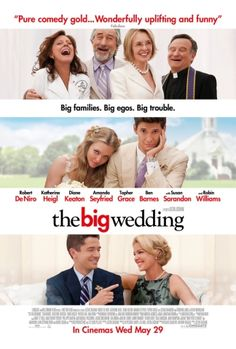 The Big Wedding - A nice, funny, easy watch that kept me laughing all the way through. Made even better by a brilliant all-star cast. Watch count: 1