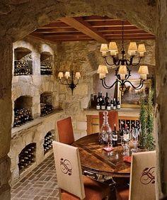 the wine cellar <3