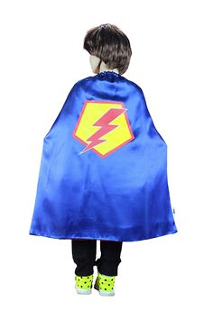 BoysandGirls Superhero Cape Made of Satin Birthday Party Costume Halloween ** You can get more details by clicking on the image.