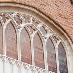 Architectural detail of Macky Auditorium windows, University of Colorado, Boulder University Of Colorado, Old World Style, Auditorium, Bouldering, Architecture Details, Past, Photo Galleries, Windows, History