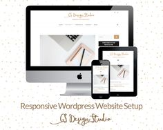 Responsive websites for your business - professional and affordablewordpress… Brand Style Guide, Business Professional, Website, Fashion Branding, Graphic Design Inspiration, Style Guides, Etsy Seller