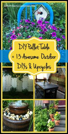 DIY Pallet table + 1