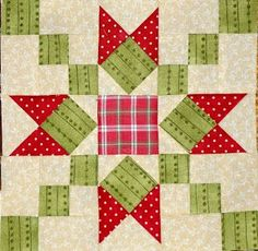 Sew'n Wild Oaks Quilting Blog: Christmas Quilt Along - quilt block