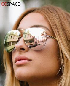 Großhandel Rose Gold Cat Eye Sonnenbrille Für Frauen Rosa Spiegel Schattierungen Weibliche Sonnenbrille Schwarz Weiß Beschichtung Cateye Aviation