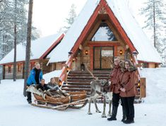 Santa Claus Reindeer – family company of Körkkö family Santa Claus Village, Santa's Village, Arctic Circle, The Locals, Reindeer, Safari, Summertime, Restaurant, House Styles