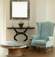 blue chair