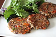adzuki millet cakes - my burgers did not hold together well, but were tasty wrapped in napa cabbage leaves. made excellent stuffed mushrooms with the rest.