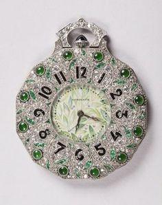 Pocket Watch, 1922–25 #finewomen'swatches