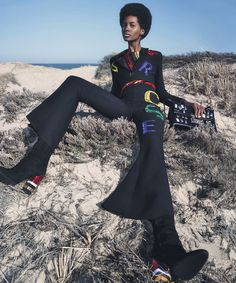 W Magazine August 2015 by Emma Summerton - Page 3 | The Fashionography