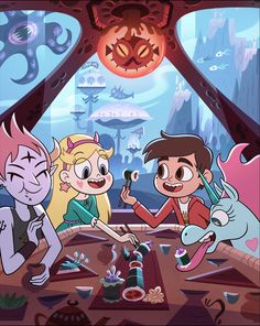 "hug-bees: "" daronnefcy: ""Star vs the Forces of Evil official season 4 poster! Also, don't miss the rest of season New episodes start March Disney Xd, Disney Cartoons, Tom Star, Starco Comics, Star E Marco, Phineas E Ferb, Star Force, Evil Art, Star Butterfly"