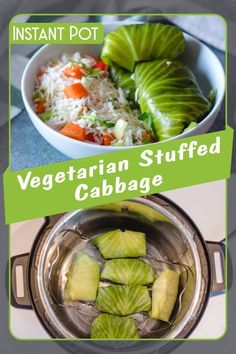 Popular stuffed cabbage made easy with the help of your Instant Pot.    For a vegan recipe just take out the sour cream.    You can also add some cooked rice to the filling, to make it more nutritious. This is the perfect choice for vegetarian people, but also if you are on a diet and you need a quick and tasty but really light meal!