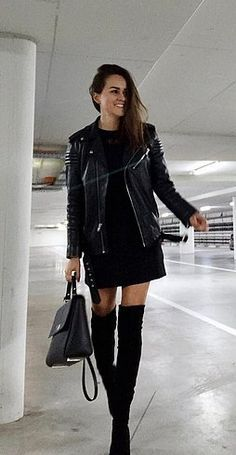 what to wear with knee high boots - Google Search