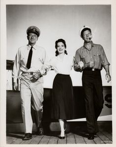 John Wayne, Maureen O'Hara, and Dan Dailey