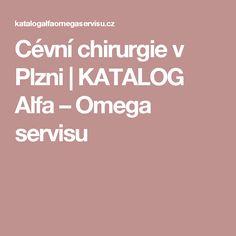 Cévní chirurgie v Plzni | KATALOG Alfa – Omega servisu