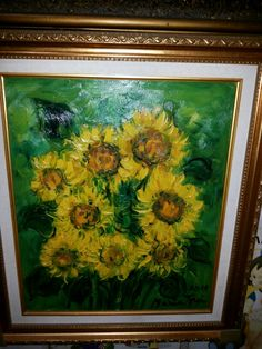 Jual lukisan orisinal = Maria Tjui