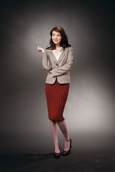 Ravelry: Pencil Skirt pattern by Drew Emborsky