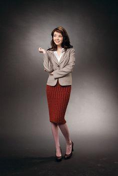 Ravelry: Pencil Skirt pattern by Drew Emborsky