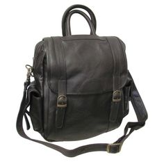 Amerileather Unisex Three-way Brown Top-Grain Cowhide Leather Backpack. $62.89. Overstock.com