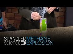 Methane Explosion - Cool Science Experiment
