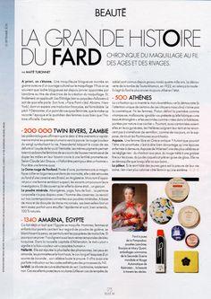 Elle France, September 2015 [2 of 5] www.lisaeldridge.com #LisaEldridge #makeup #beauty #history #facepaintbook #Elle