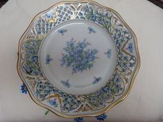 1000 Images About Dinnerware China Forget Me Not