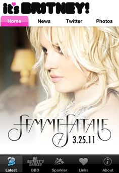 Happy Birthday Femme Fatale Homescreen! Click through to purchase the app!