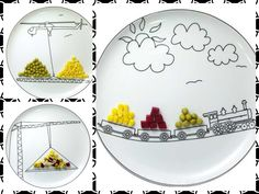 Creative plates for kids