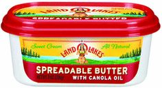 LAND O LAKES® Spreadable Butter Giveaway