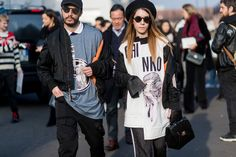The Best Street Style At Milan Fashion Week Autumn Winter 2017  - ELLEUK.com