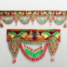 Riddhi Craft Resham Charm Colorful Door Hanging   Colorful Door Hangings  Create A Festive Feel At