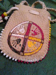 The Sacred Hoop Medicine Bag by earthwayspirit on Etsy