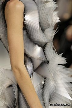 Iris van Herpen, the things that people do with their time.... Like designing this...