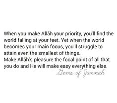 Alhamdulillah so true..I have noticed this time and time again..alhamdulillah..