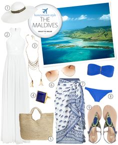 What to Pack for a Honeymoon in the Maldives | Blog.theknot.com