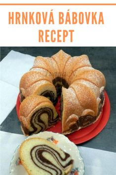 Bunt Cakes, Cupcake Cakes, Cupcakes, Toffee Bars, Czech Recipes, Dessert Recipes, Desserts, Doughnut, Sweet Treats