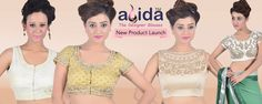 Abida offering wide range of the latest collection of women's designer blouses,Wear it with different-different colors saree and make you look stylish and trendy.