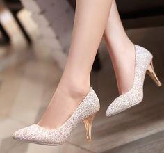SKU: L6E87255JD8SFEX8CUTKCSizes: 34,35,36,37,38,39Colors: White,GoldStyle:PrincessToe:Round Toe