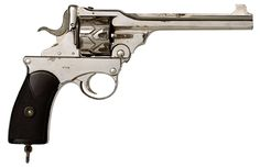 Lock, Stock, and History, Rare .38 caliber Webley Fosbery Revolver Only...