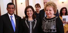 Margarita Cedeńo se reúne con presidenta Consejo de la Federación Rusa - Diario Social RD