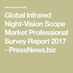 Global Infrared Night-Vision Scope Market Professional Survey Report 2017 - PressNews.biz