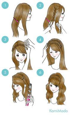 Penteado super fácil e lindo para fazer sozinha e arrasar em um fds ou no dia a dia
