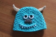 Sully Hat  Monsters Inc. by ThatGirlsCrafts on Etsy, $26.00